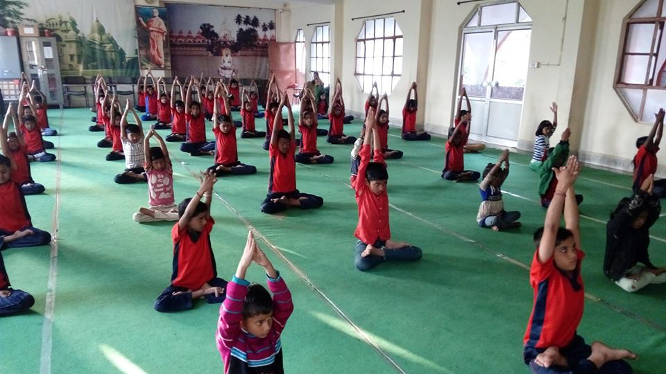 Kids activities at Ramakrishna Mission Indore